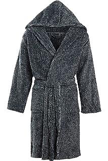 MICHAEL PAUL Men s Luxury Soft Fleece Dressing Gown  Amazon.co.uk ... bd5ce9fd7