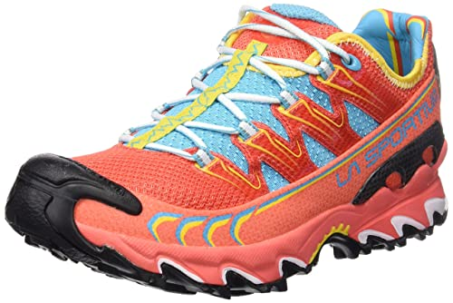 La Sportiva Ultra Raptor Woman - Deportivos de Running para Mujer, Color Coral, Talla 41.5: Amazon.es: Deportes y aire libre