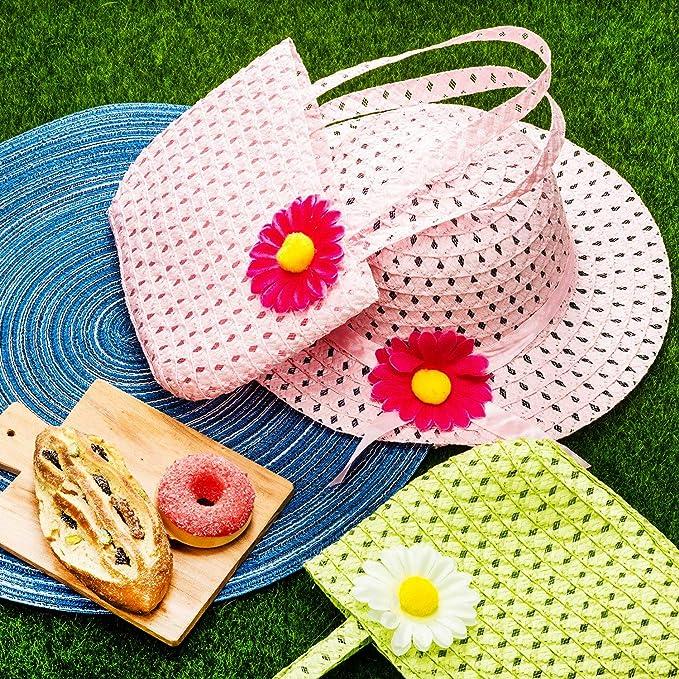 Amazon.com: Zhanmai 9 juegos de sombreros de fiesta de té ...