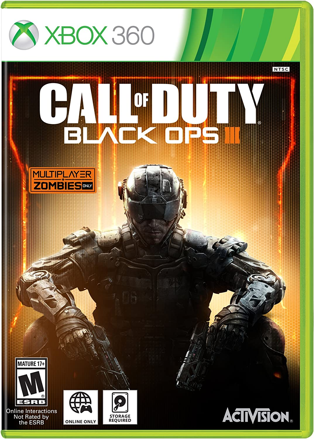 Call Of Duty Black Ops 3 Xbox 360 English Standard Edition