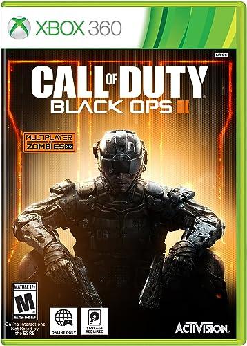 Activision Call of Duty: Black Ops 3, Xbox 360 Básico Xbox 360 Inglés, Italiano vídeo - Juego (Xbox 360, Básico, Xbox 360, FPS (Disparos en primera persona), M (Maduro), Inglés, Italiano, Treyarch): Amazon.es: Videojuegos