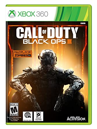 Amazon Com Call Of Duty Black Ops Iii Standard Edition Xbox 360 Call Of Duty Black Ops 3 Video Games