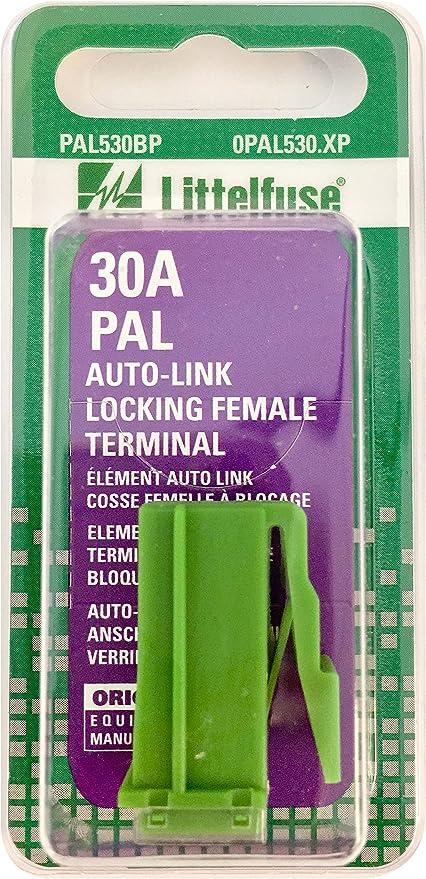 Lot of 10 Littelfuse PAL530BP 30 Amp Auto Link Locking Female Terminals