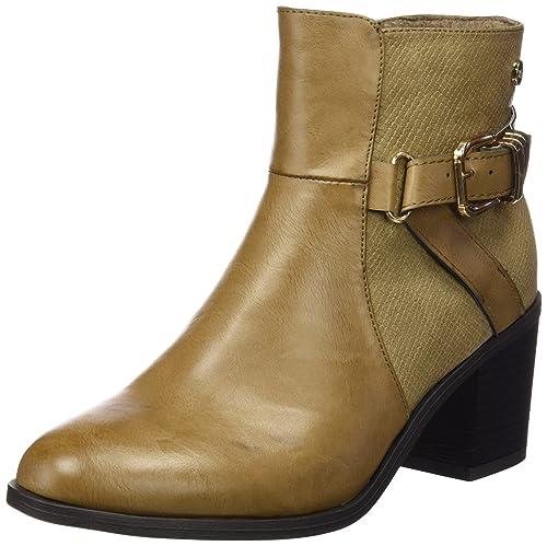 Xti Botin Sra. C.Combinado 46224 - Botas para mujer, color Beige (Taupe), talla 40: Amazon.es: Zapatos y complementos