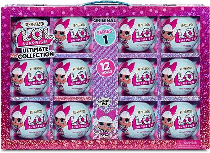 Amazon.com: L.O.L. Surprise! Ultimate Collection Diva – 12 Re-Released Dolls Series 1 (571513): Toys & Games