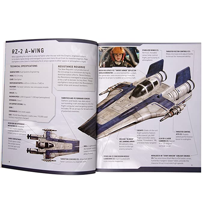 Amazon com: Star Wars: The Last Jedi A-Wing Book and 3D Wood Model