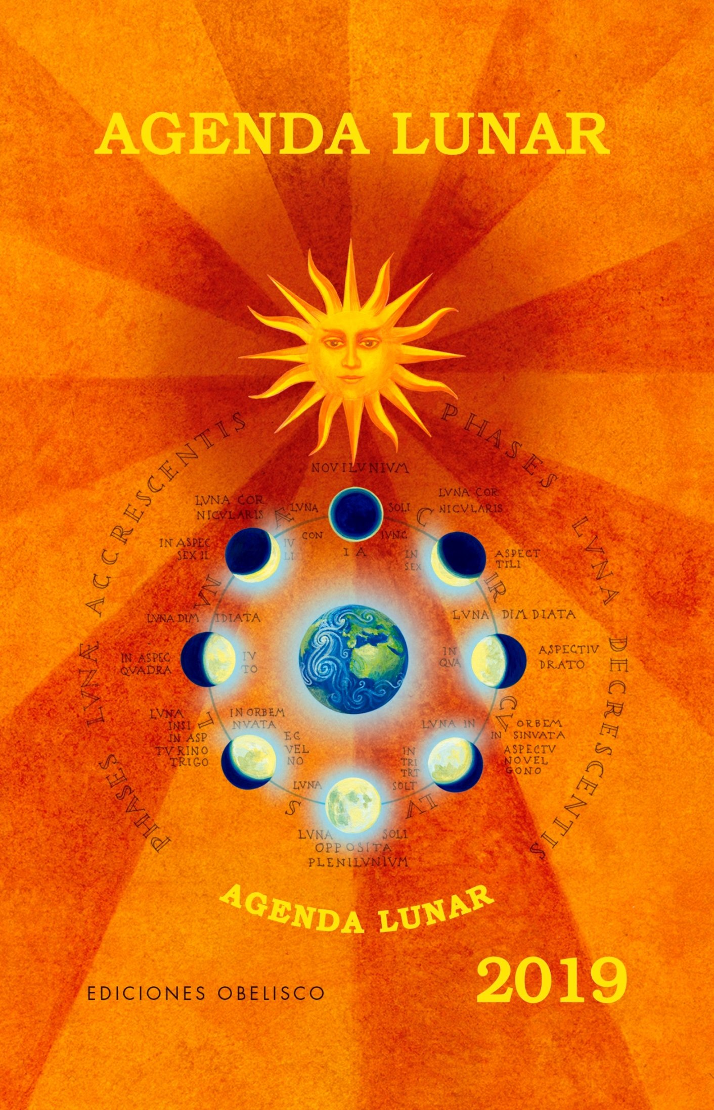 Agenda lunar 2019 (Spanish Edition): Holdnaptar ...