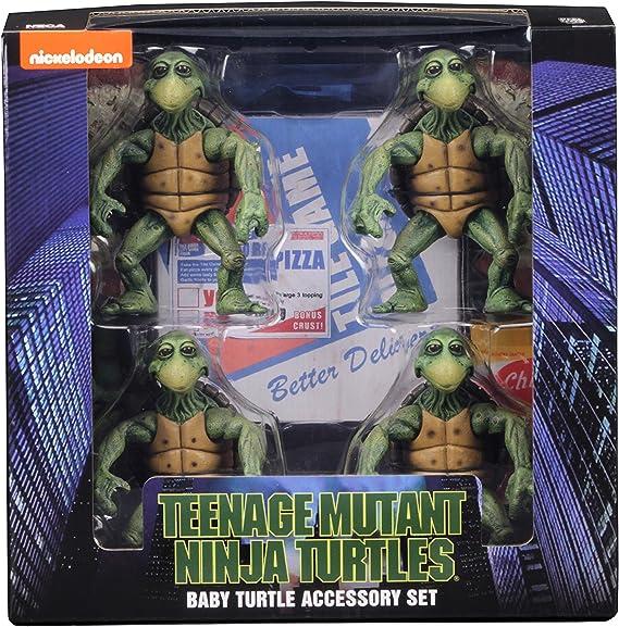 Amazon.com: NECA Tmnt (1990 película) 1/4 Escala Acción ...