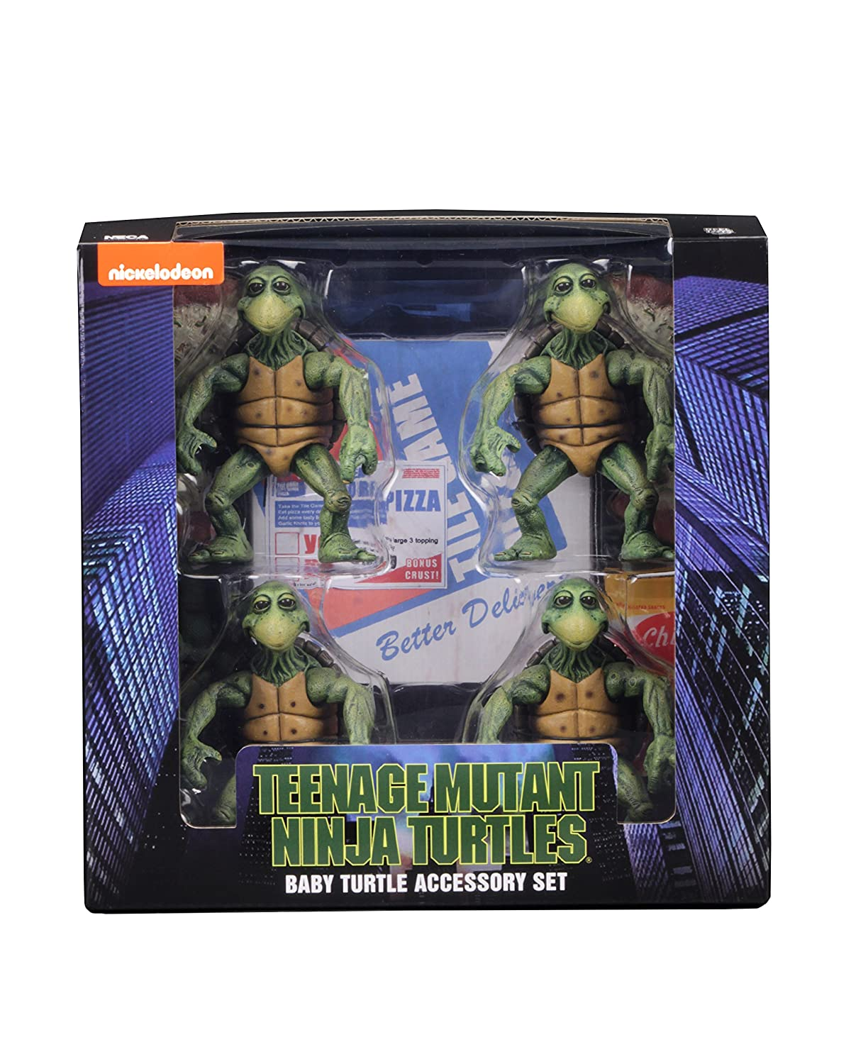 NECA Teenage Mutant Ninja Turtles Action Figure 4-Pack 1/4 ...