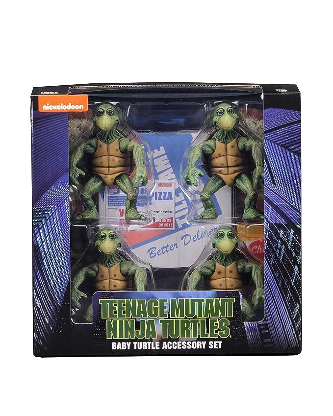 NECA Teenage Mutant Ninja Turtles Action Figure 4-Pack 1/4 ...