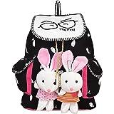 Bagex Women's Canvas Bagpack Handbag (Multicolor,Mvx100I)