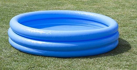Intex 58446NP - Piscina hinchable 3 aros azul 168 x 38 cm, 581 ...