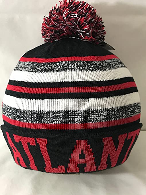 Image Unavailable. Image not available for. Color  New York Headwear Knit  Atlanta Falcons On Field Sideline Winter Stocking Beanie Pom Hat Cap ca4d5fd7db00