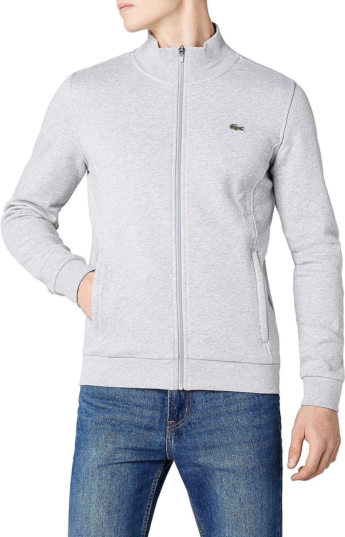 Lacoste Mens Zip Cardigan Long Sleeve Sweatshirt