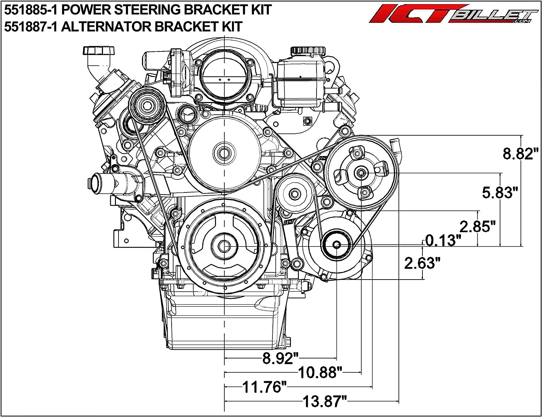 [DIAGRAM_09CH]  Amazon.com: ICT Billet LS G8 Caprice SS Power Steering Bracket Kit  Compatible with LS2 LS3 L76 L77 L98 (Caprice, SS, G8 Pump) Designed &  Manufactured in the USA 551885-1: Automotive | L76 Engine Diagram |  | Amazon.com