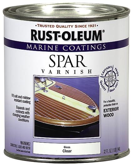 Rust-oleum 207008 Marino Spar Varnish 1-quart