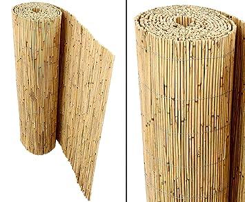 Bambus Discount amazon de schilfrohrmatten premium für balkon 90 hoch x
