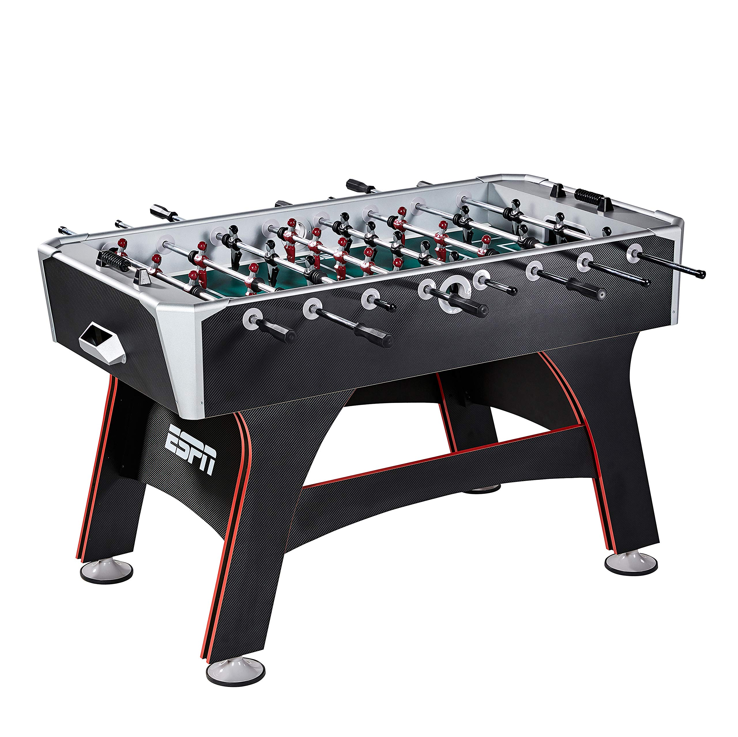 ESPN SOC056_218E 56'' Arcade Foosball Table by ESPN