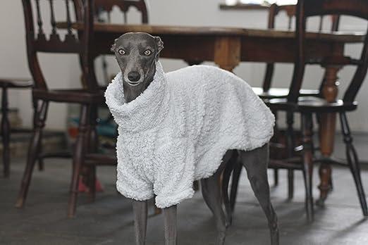 The Trendy Whippet Pijama de Forro Polar Suave Gris con diseño de Galgo Italiano, Azabache, Lurcher, Galgo, Saluki Sighthound.: Amazon.es: Productos para ...