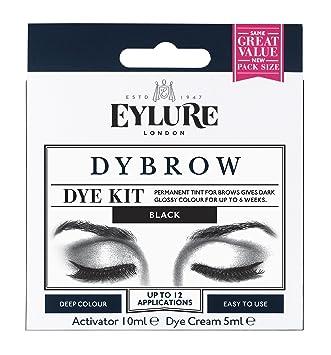 2bb833ace00 Amazon.com : Eylure Pro Brow Dye Kit - Black : Beauty