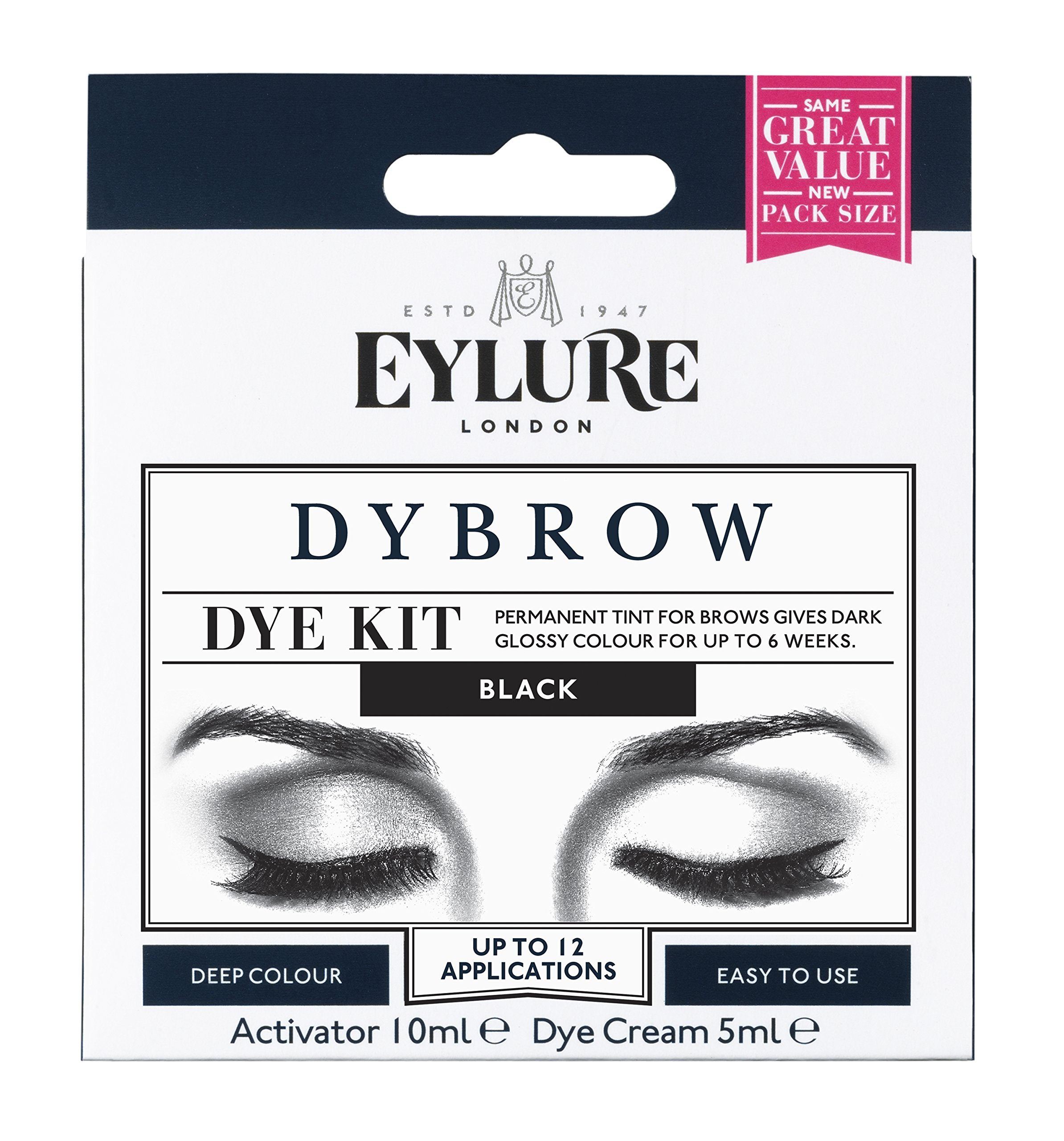 Amazon Eylure Pro Brow Dye Kit Brown A Beauty