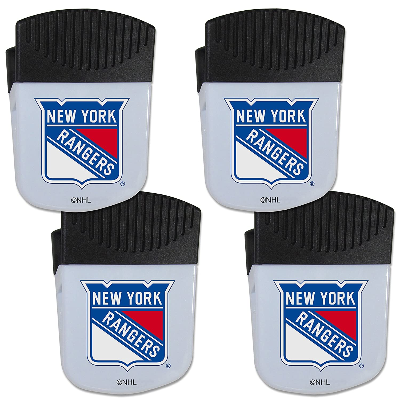 Siskiyou NHL Unisex Chip Clip Magnet with Bottle Opener, 4 Pack
