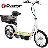Razor EcoSmart Metro Electric Scooter with Seat & Rack