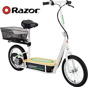 Razor EcoSmart Metro Electric Scooter For Adults - 500W High Torque Motor, Up to 18MPH, 16