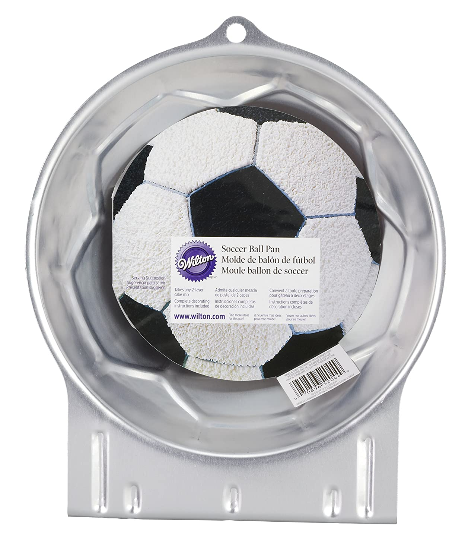 Amazon.com: Wilton Soccer Ball Pan: Novelty Cake Pans: Kitchen & Dining