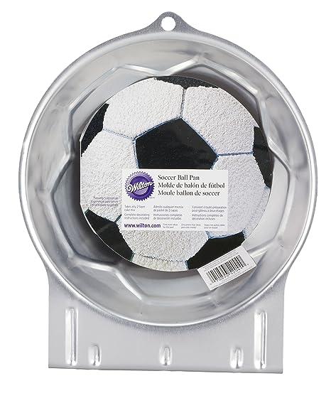 Wilton Molde para Hornear, diseño de balón de fútbol, As Shown, centimeters