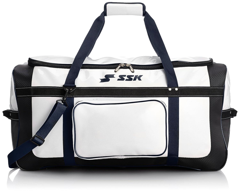 [エスエスケイ] SSK ヘルメット兼キャッチャー用具ケース B007RFTQZQ ホワイト/ネイビー ホワイト/ネイビー
