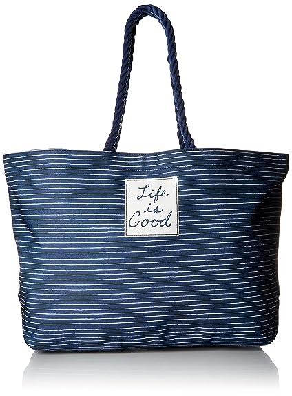 Amazon.com  Life is Good Womens Beach Bag Small Carry All ce18da641