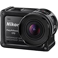 Nikon KeyMission 170 4K Ultra HD Action Camera with Built-In Wi-Fi - Certified Refurbished