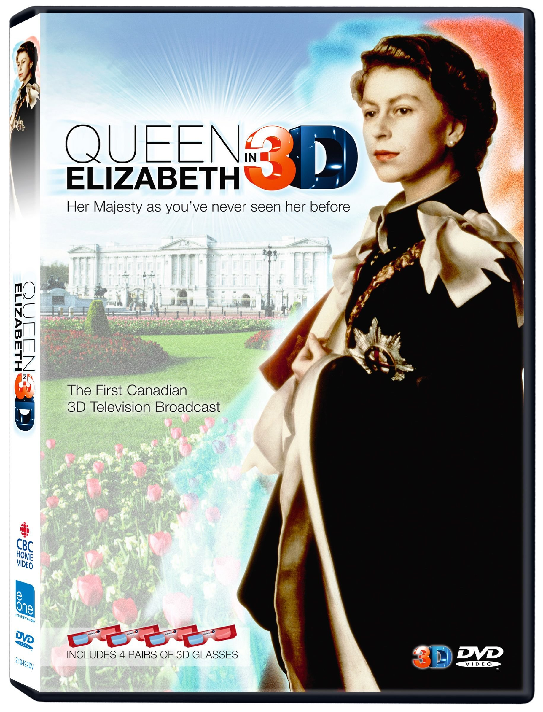DVD : Queen Elizabeth In 3d (DVD)