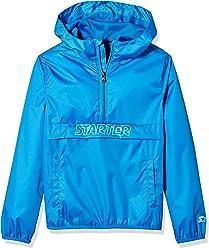Starter Boys' Popover Packable Jacket, Amazon Exclusive
