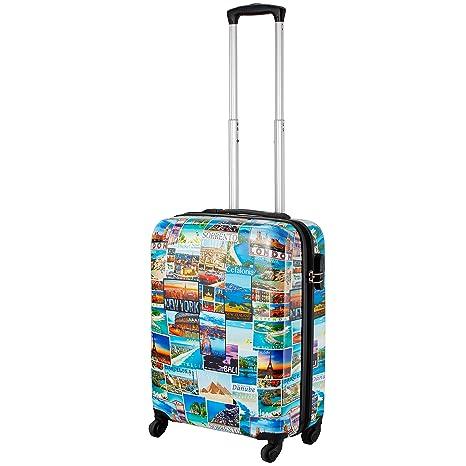 2427ccedb4 Cabin Max Icon 2.0 – Trolley Valigia con 4 Ruote Leggera in ABS – Bagaglio a