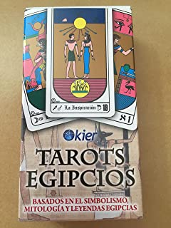 Egipcios Kier Tarot Deck (78 Major and Minor Arcana Tarot ...