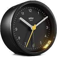 Braun - Reloj Despertador analógico, Pantalla de fácil