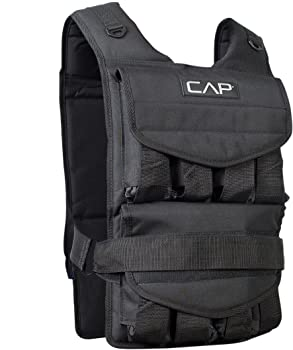CAP Barbell Adjustable Weighted Vest 40 Pound
