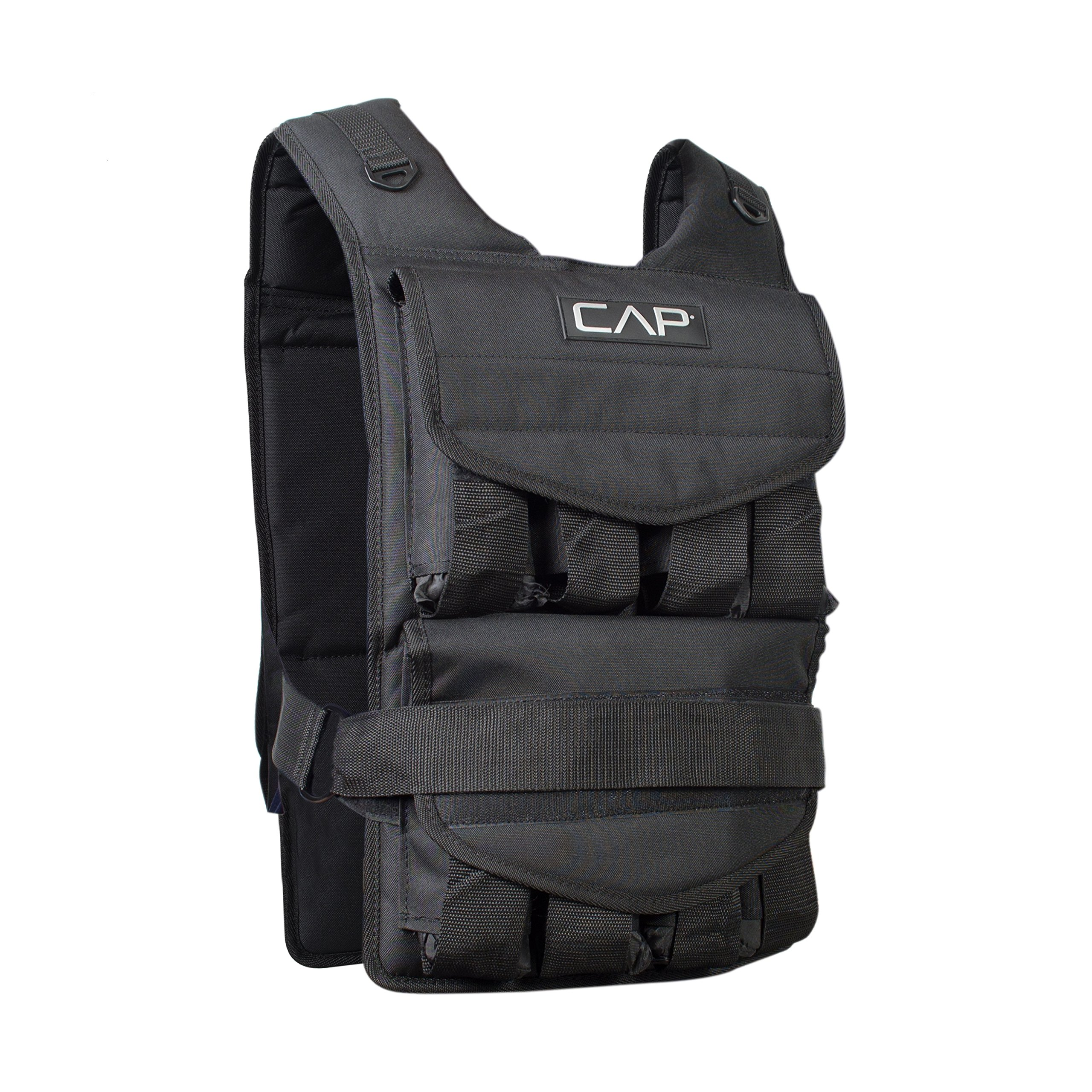 CAP Barbell Adjustable Weighted Vest, 40 lb by CAP Barbell