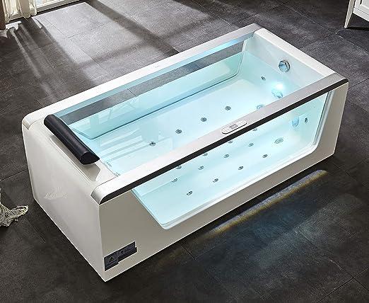 EAGO AM152ETL-5 Whirlpool Tub Color blanco pieza y accesorio de ...
