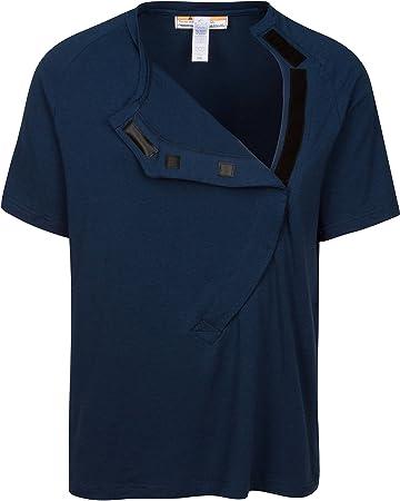 e8f112a62ae Amazon.com   DadWare Bamboo Bondaroo Skin to Skin Kangaroo Care Bonding T- Shirt (M) Navy Blue   Baby