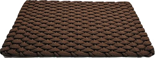 Rockport Rope Doormats 2034202 Indoor Outdoor Doormats, 20 x 34 , Brown