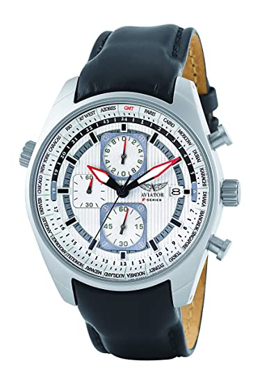 d5cab2e16430b9 Aviator - Orologio da uomo AVW1900G243: Amazon.it: Orologi