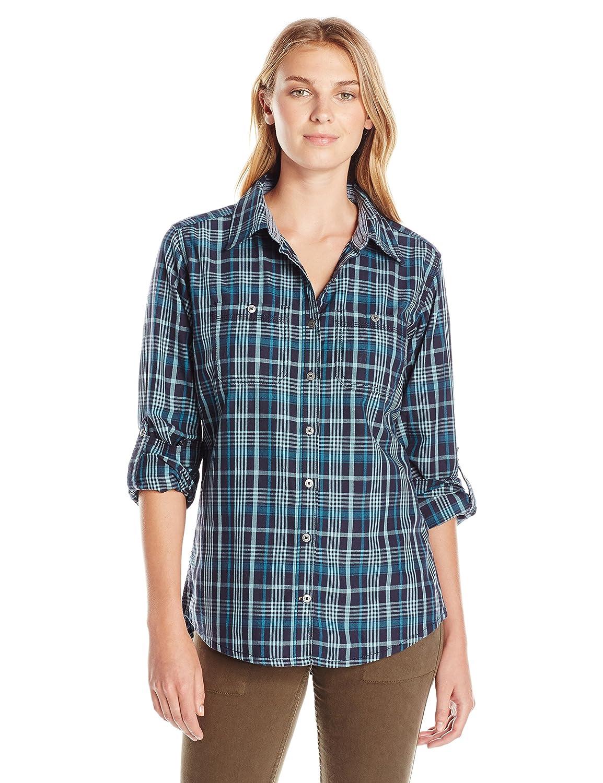 Carhartt Women's Dodson Button Front Plaid Shirt 102262