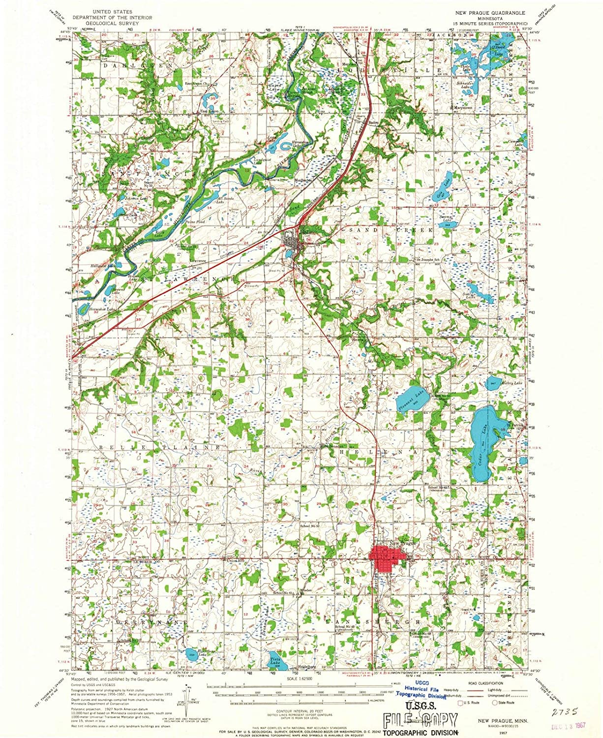 Amazon.com: Minnesota Maps | 1957 New Prague, MN USGS ... on map of thief river falls mn, map of parkers prairie mn, map of excelsior mn, map of ogilvie mn, map of forest lake mn, map of east grand forks mn, map of albertville mn, map of grasston mn, map of nicollet mn, map of eagan mn, map of becker mn, map of white bear lake mn, map of deephaven mn, map of truman mn, map of erskine mn, map of fairfax mn, map of lakeville mn, map of sauk centre mn, map of lake city mn, map of inver grove heights mn,