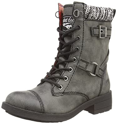 Rocket Dog Thunder Military Ankle Boots Black Brown Tan Black Galaxy
