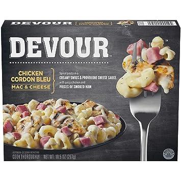 Devour Chicken Cordon Bleu Mac Cheese 105 Oz Frozen Amazon