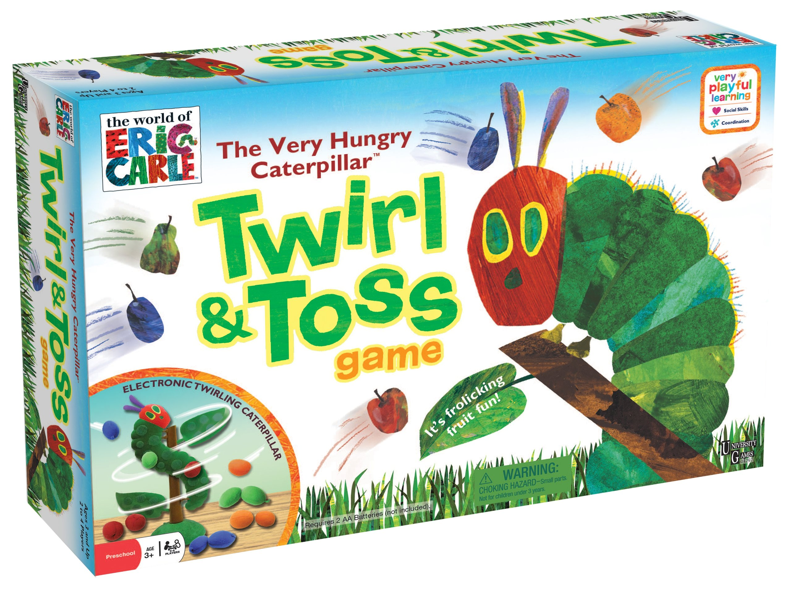 The World of Eric Carle Very Hungry Caterpillar Twirl & Toss Game