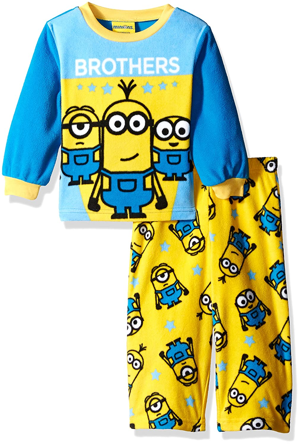 Despicable Me Boys 2-Piece Fleece Minion Pajama Set